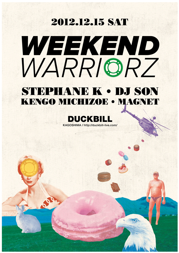 Duckbill & WEEKEND WARRIORZ PRESENTS