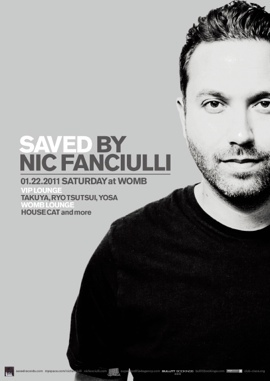 SAVED RECORDS feat. NIC FUANCIULLI @ WOMB
