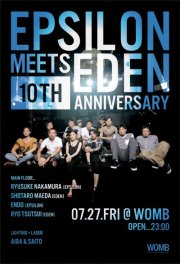 EPSILON Meets EDEN 10TH ANNIVERSARY